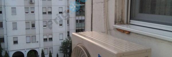Panasonic klima uredjaj CS-RE12RKEW/CU-RE12RKE Inverter spoljasnja jedinica
