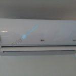 LG klima athena H12AL inverter unutrasnja jedinica prvi probni rad po montazi
